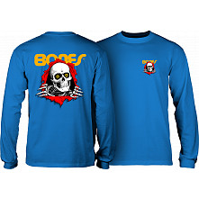 Powell Peralta Ripper L/S T-Shirt Royal Blue