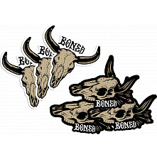 BONES WHEELS Desert West Sticker 20 pack