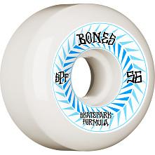 BONES WHEELS SPF Skateboard Wheels Spines 56mm P5 Sidecut 84B 4pk White