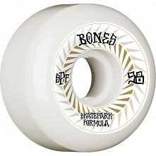BONES WHEELS SPF Skateboard Wheels Spines 58mm P5 Sidecut 81B 4pk White