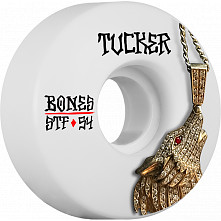 BONES WHEELS STF Pro Tucker Wolf Skateboard Wheels V1 54mm 103A 4pk