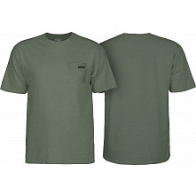 BONES WHEELS Petey T-Shirt Military Heather