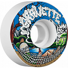 BONES WHEELS STF Pro Gravette Outdoorsman Skateboard Wheels Locks 53mm 4pk