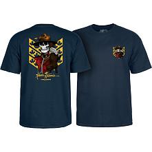 Powell Peralta Kevin Harris Mountie T-shirt Navy