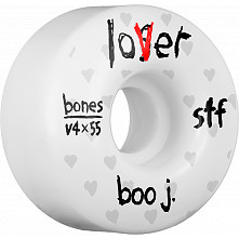 BONES WHEELS STF Pro Boo Johnson Lover Skateboard Wheels V4 55mm 34mm 4pk