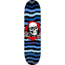 Powell Peralta Ripper Skateboard Blem Deck Blue 243 K20 - 8.25 x 31.95