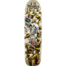 Bones Brigade® Rodney Mullen Chess Skateboard Deck White - 7.4 x 27.625