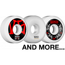 BLEM BONES WHEELS STF V5 55mm White 4pk