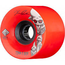 Powell Peralta Pro Kevin Reimer Downhill Skateboard Wheel Red 72mm 80A 4pk
