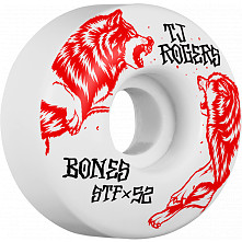BONES WHEELS STF Pro Rogers Survival Skateboard Wheels V3 52mm 103A 4pk