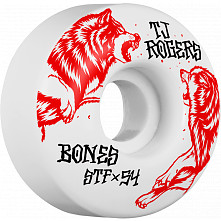 BONES WHEELS STF Pro Rogers Survival Skateboard Wheels V3 54mm 103A 4pk