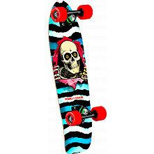 Powell Peralta Ripper WC Cruiser 274 Skateboard Assembly - 8.24 x 25.38