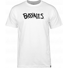 BONES WHEELS X'D Out T-shirt White
