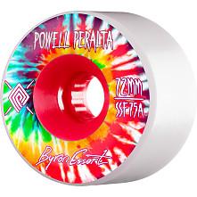 Powell Peralta Soft Slide Byron Essert 72mm 4pk White Wheels