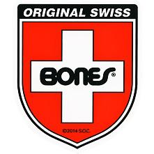 Bones Swiss Bearing Shield Sticker Medium single