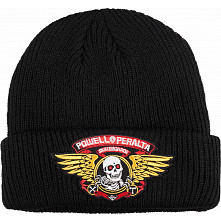 Powell Peralta Winged Ripper Beanie Black