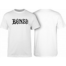 BONES WHEELS BW Frontal Youth T-shirt White