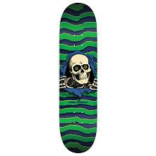 Powell Peralta Ripper Skateboard Blem Deck Green - Shape 245 - 8.75 x 32.9