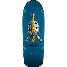 Powell Peralta Ray Rodriguez Skull and Sword OG Snub Skateboard Deck - 10 x 30