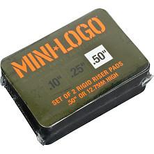 "Mini Logo Riser 3 single set .50"" rigid pad"