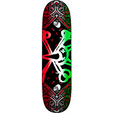 Powell Peralta Vato Rat Band Green Skateboard Deck - 8.125 x 31.25