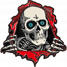 Powell Peralta Ripper Lapel Pin