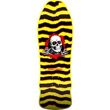 Powell Peralta GeeGah Ripper Skateboard Deck Yellow - 9.75