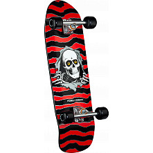 Powell Peralta Classic Ripper Custom Complete Skateboard Red - 10 x 31.75