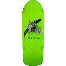 Bones Brigade® Mike McGill Jet Fighter Reissue Skateboard Deck Green - 10.28 x 30.25