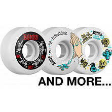 BLEM BONES WHEELS STF V1 52mm White 4pk