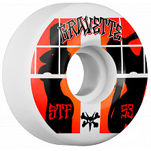 BONES WHEELS STF Pro Gravette Peeps Skateboard Wheels V2 53mm 103A 4pk