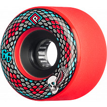 Powell Peralta Snakes 66mm Red 4pk