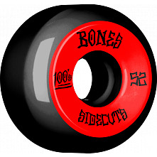 BONES WHEELS 100 #2 V5 Skateboard Wheel 52mm 4pk Black