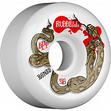 BONES WHELS SPF Pro Chris Russell Snake Bite Skateboard Wheel P5 Sidecut 56mm 4pk White