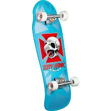 Bones Brigade Tony Hawk Series 9 Skateboard Complete light blue- 10 x 30.05