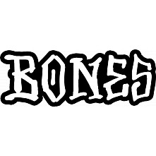 "BONES WHEELS BONES 7"" Sticker single"