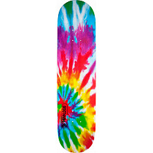 Mini Logo Small Bomb Skateboard Deck 124 Tie-Dye - 7.5 x 31.375