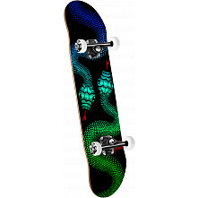 Powell Peralta Snakes '15' Complete Skateboard Assembly Black - 8.25 x 32.5