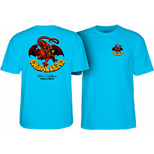Powell Peralta Steve Caballero Dragon II T-shirt - Turquoise