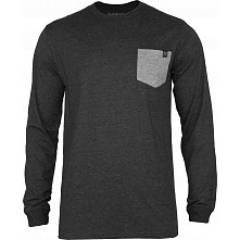 BONES WHEELS Keegan L/S Shirt Black