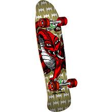 Powell Peralta Mini Cab Dragon Complete - Gold Complete Skateboard - 8 X 29.5