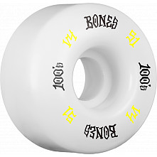 BONES WHEELS 100 Skateboard Wheels 100A 4pk