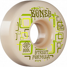 BONES WHEELS STF Skateboard Wheels Retros 52mm V3 Slims 99A 4pk