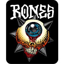 BONES WHEELS Iron Sun Sticker Single