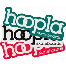 "hoopla Asstd 3"" Sticker single"
