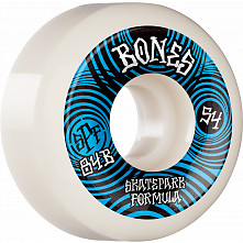 BONES WHEELS SPF Skateboard Wheels Ripples 54mm P5 Sidecut 84B 4pk White