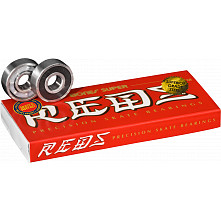Bones® Super REDS® Skateboard Bearings 8 pack
