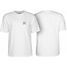 BONES WHEELS Chester T-shirt White