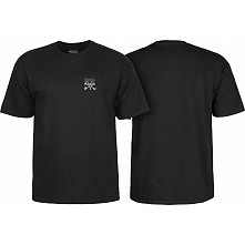 BONES WHEELS Chester T-shirt Black