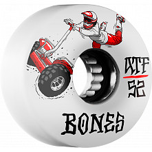 BONES ATF SEG Cross 52x32 Skateboard Wheel 80a 4pk